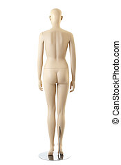 Female mannequin | Isolated - Naked anatomycal female...