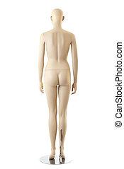 Female mannequin | Isolated - Naked anatomycal female...