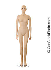 Female mannequin | Isolated - Detailed female mannequin...