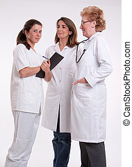 Female medical personnel