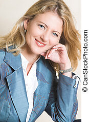 Female Model - Beautiful Blond Adult Female model wearing a...