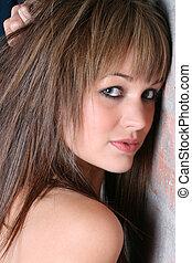 Female Model - Profile of a beautiful young female model