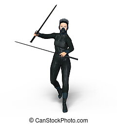 Female ninja