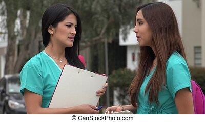 Female Nursing Students