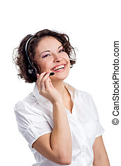 Operator of call center - Female Operator of call center...
