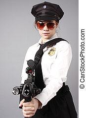 Female police officer