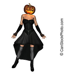 Female Pumpkinhead - 3