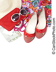 Female shoes and accessories