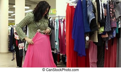 Female Shoppers In Action HD