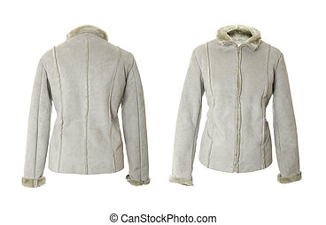 Female short coat | Isolated