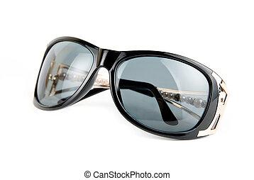 Female sunglasses - Female modern sunglasses isolated on ...