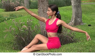 Female Teen Yoga Poses