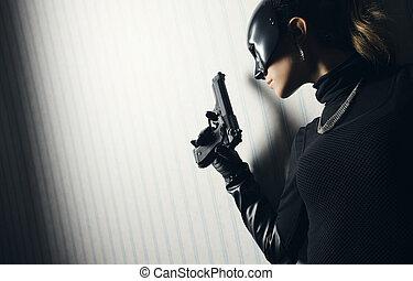 Female thief