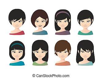 femelle asiatique, avatar
