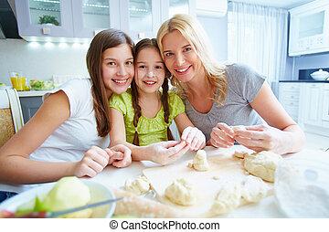 femelles, cuisine