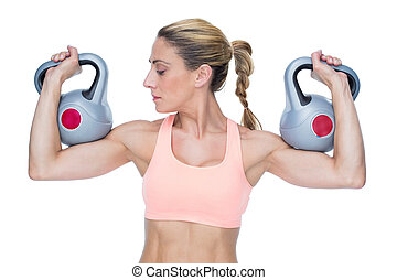 femininas, forte, kettlebells, levantamento, crossfitter