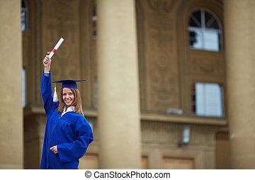 femininas, graduado