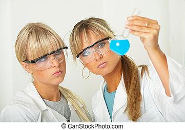 femininas, laboratório