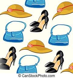 Feminine accesories pattern