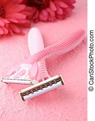 feminine shaving - pink feminine razors for shaving