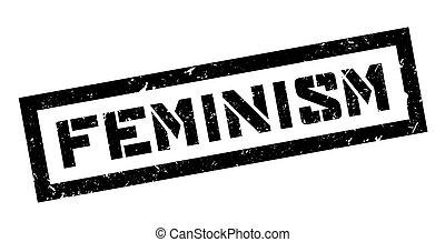 Feminism rubber stamp