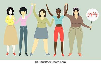 feminizm, prawa, womens