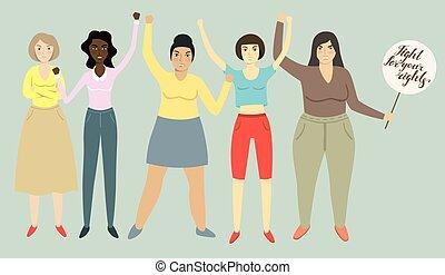 feminizm, womens, prawa