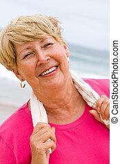 femme aînée, exercice