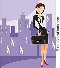 femme affaires, 7