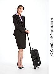 femme carrière, voyage, business