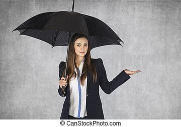 femme, depuis, compagnie assurance