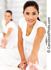 femme, exercice, fitness