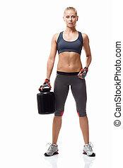 femme, fitness