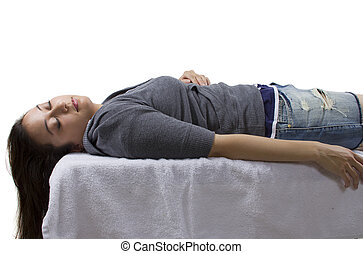 femme, inconscient