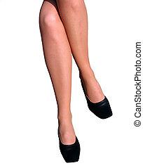 femme, jambes