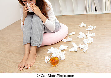 Th froid maladie tissus medicaments bleu maladie image recherchez photos clipart - Gaufre bleu maladie femme photo ...
