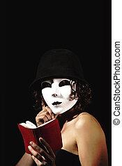 femme, pantomime