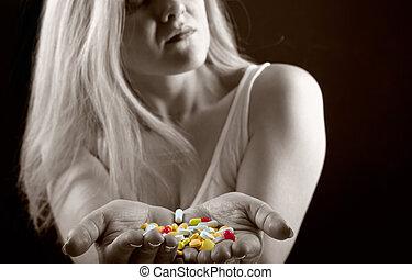 femme, pilules