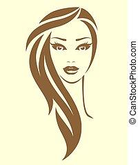 femme, vendange, style