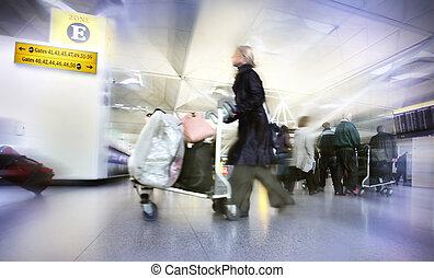 femmes, à, sacs