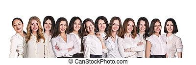 femmes affaires, lineup