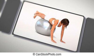 femmes, montage, exercisme