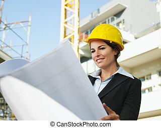 femmina, ingegnere