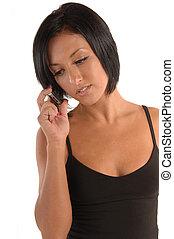femmina, telefono