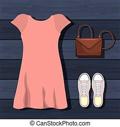 femminile, progetto moda