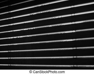 fenêtre, abat-jour