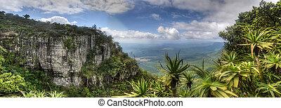 fenêtre, afrique, mpumalanga, sud, dieu