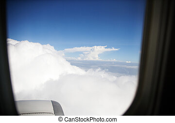 fenêtre avion