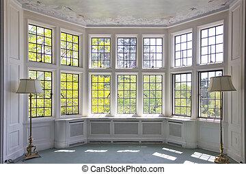 fenêtre, baie
