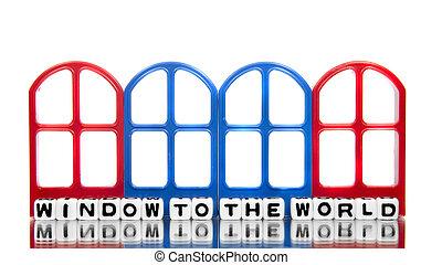 fenêtre monde